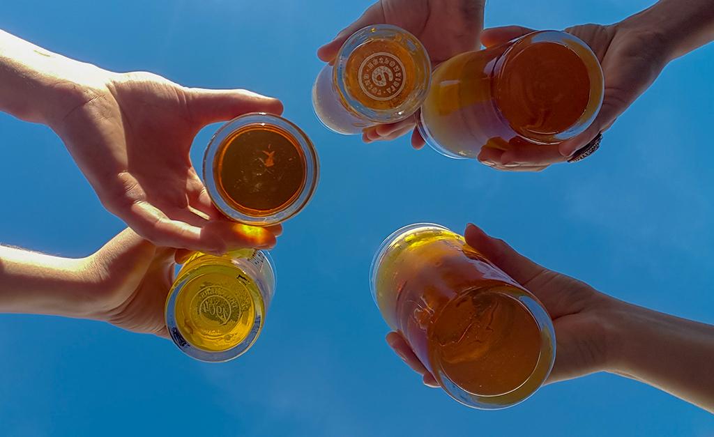 Wspólne piwo Bo Chcieć to móc