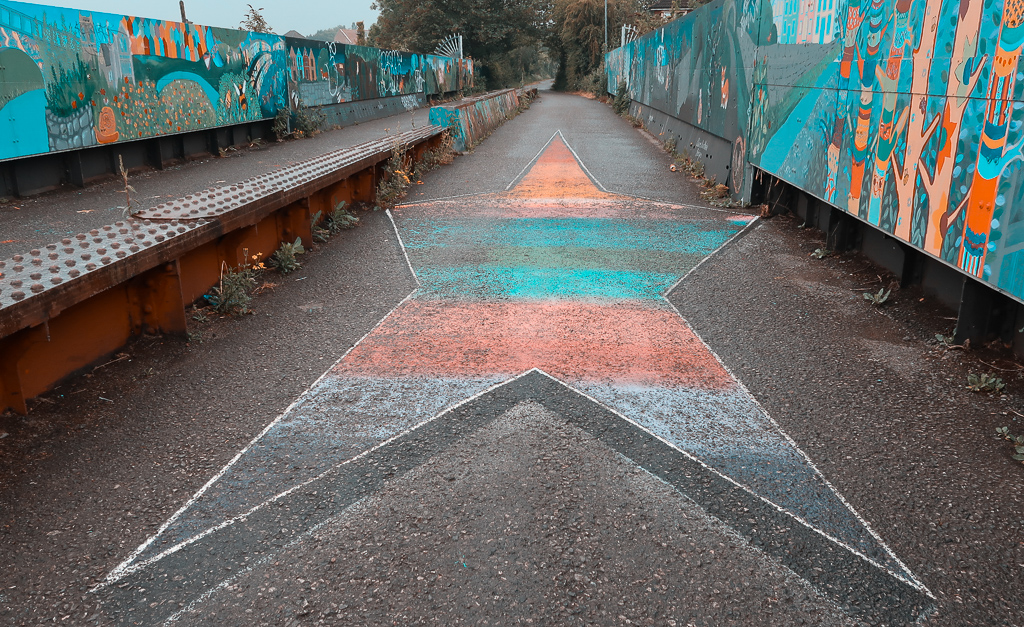 Street Art at the Bristol and Bath Railway Path