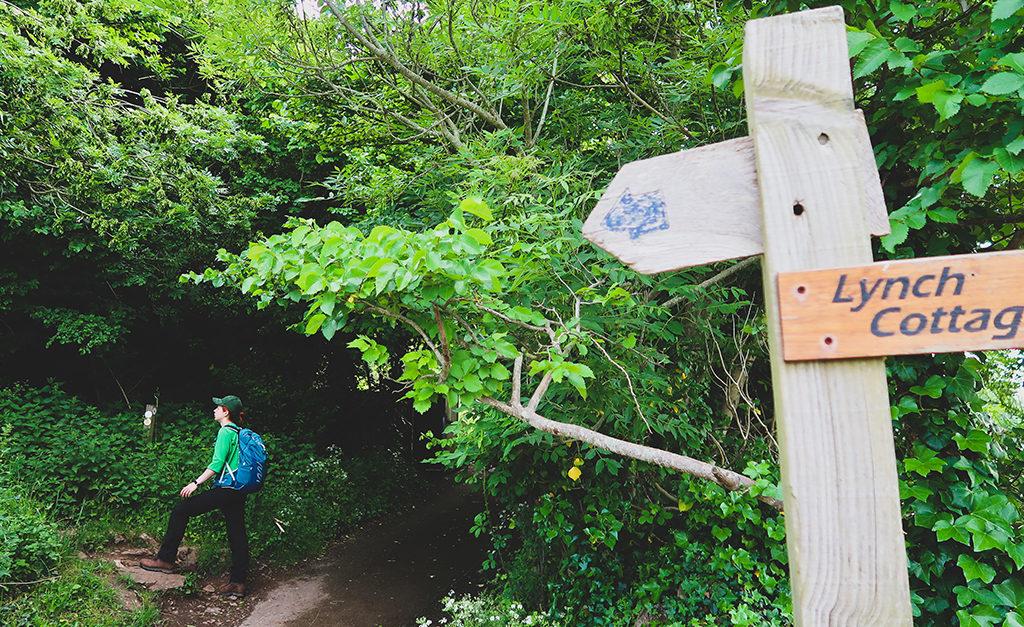 Alternatywne wejście na szlak Cheddar