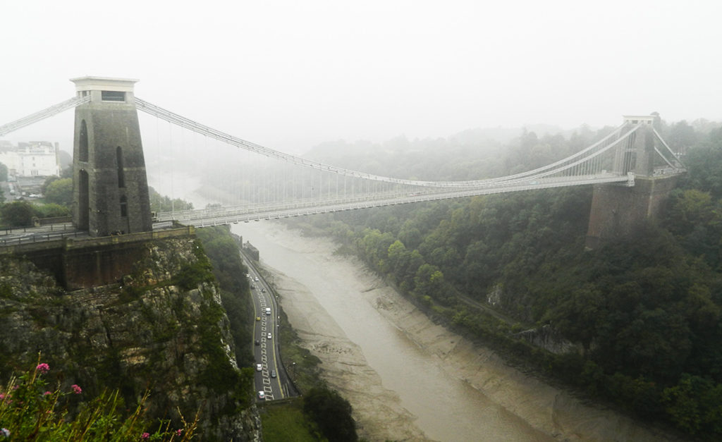 Most Clifton Suspension Bridge we mgle