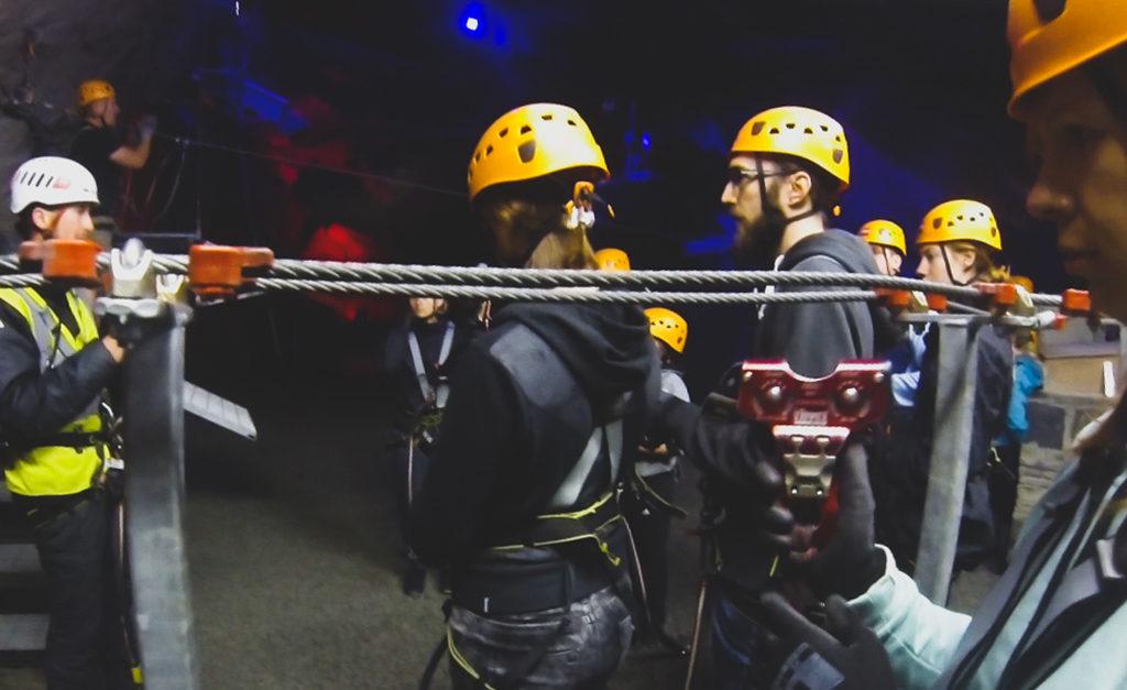 Zip World Cavens to bezpieczeństwo
