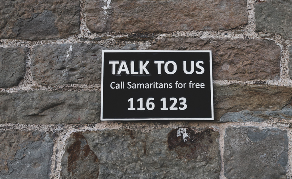 Pomoc w Bristolu Samaritans na clifton Bridge