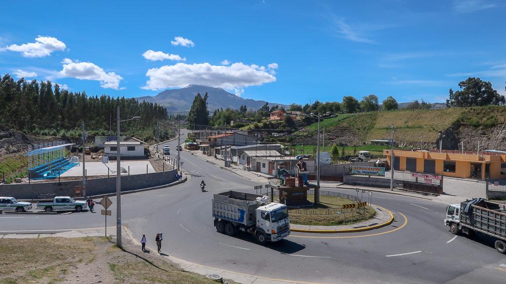 Rondo Ekwador Wulkan Cotapaxi