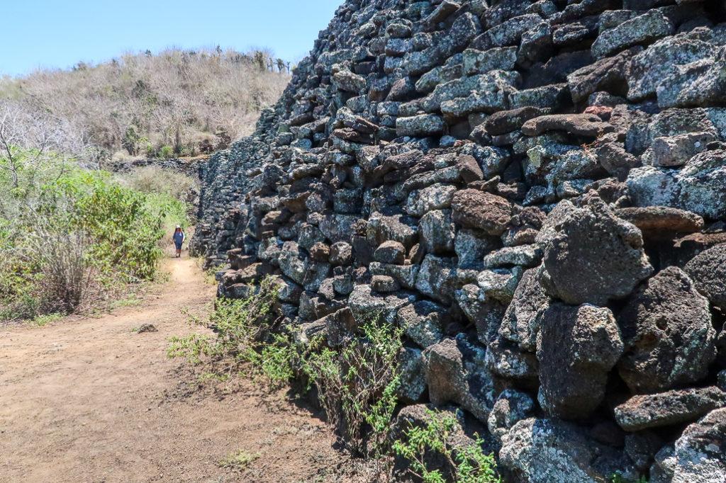 Mur Łez na Galapagos, Wyspa Izabela, Ekwador