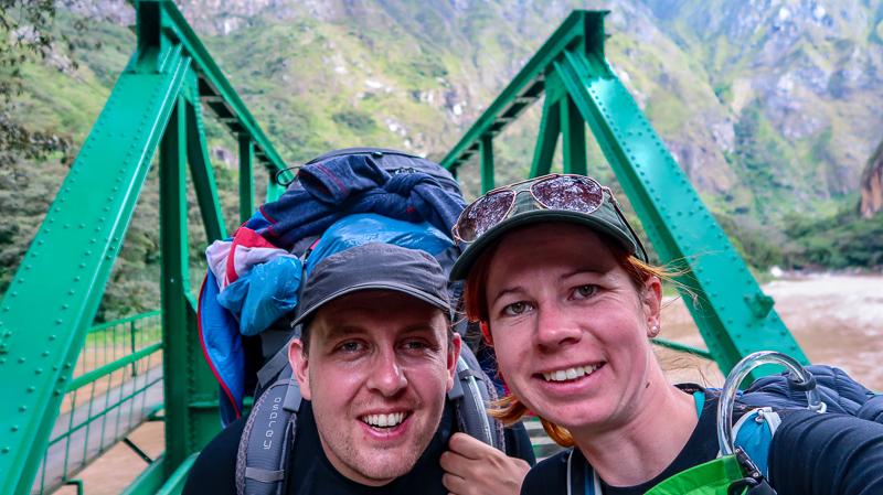 Most kolejowy w Peru Macchu Piccu