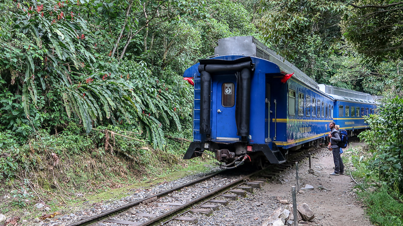 Pociąg do Machu Picchu z Hydroelektry