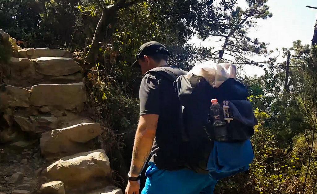 Lazurowa Ścieżka - Strome Schody
