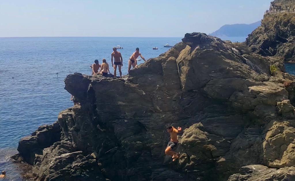 Cinque Terre kamieniste kąpielisko