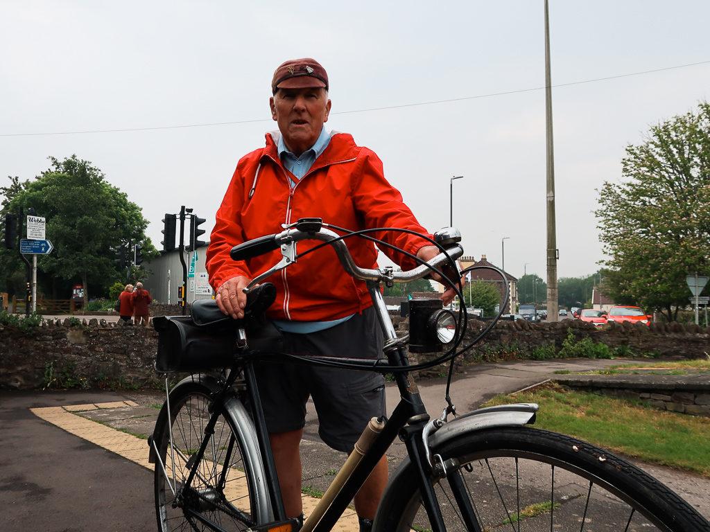 Trasa rowerowa z Bristolu do Bath jest uczęszczana również przez seniorów