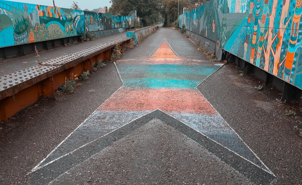 Street Art at the Bristol and Bath Railway Path