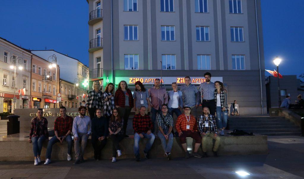 Blogotok Kielce 2018 - Spotkanie Bloggerów - koszule w kratkę obowiązkowe!