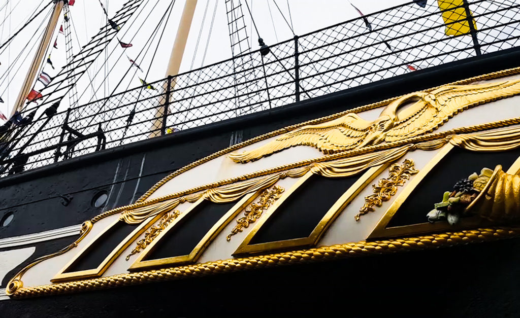 statek Bristol SS Great Britain kadłub
