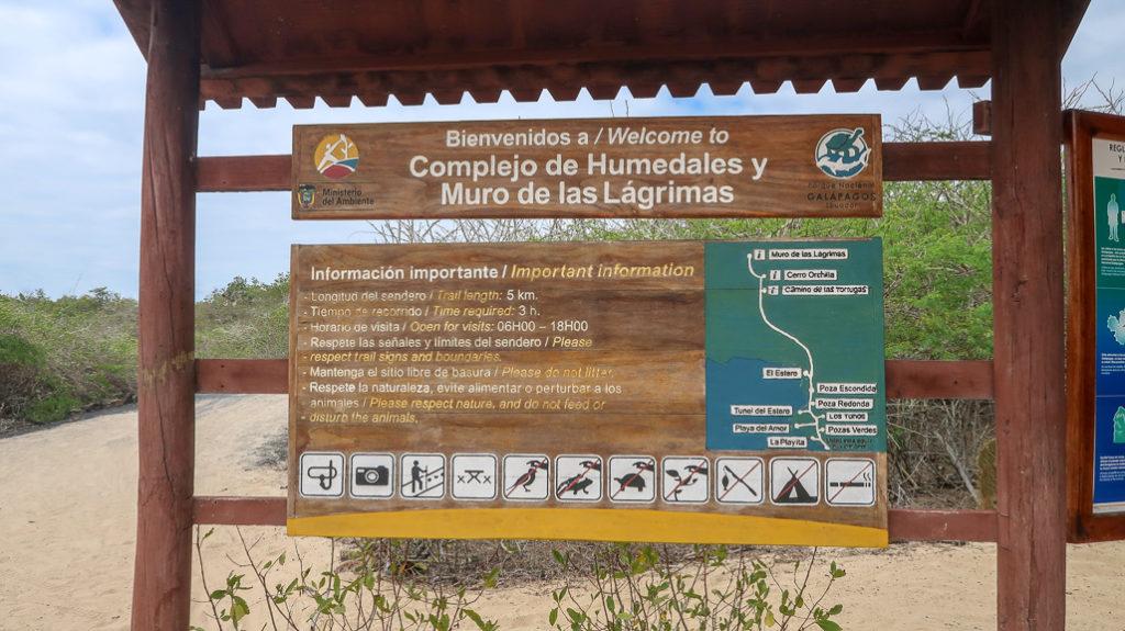 Mur Łez / Ściana Płaczu na Isla Isabela na Galapagos