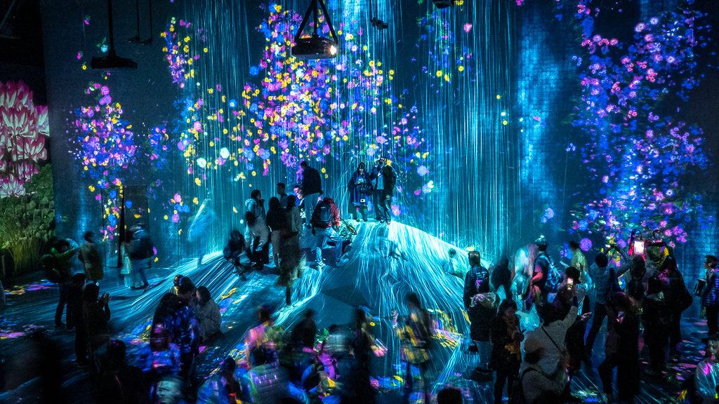 Cyfrowe Muzeum Sztuki w Japonii oferuje wiele niesamowitych atrakcji